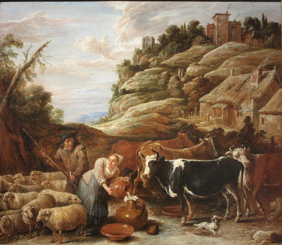La Traite du troupeau