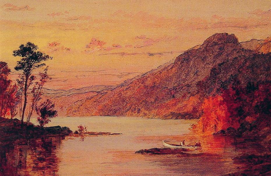 Lake Scene, Catskill Mountains