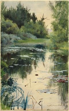 Landscape Study from Mora