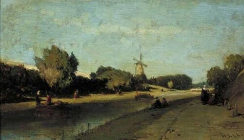 Landscape with a Channel