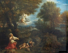 Landscape with Agar and the Angel