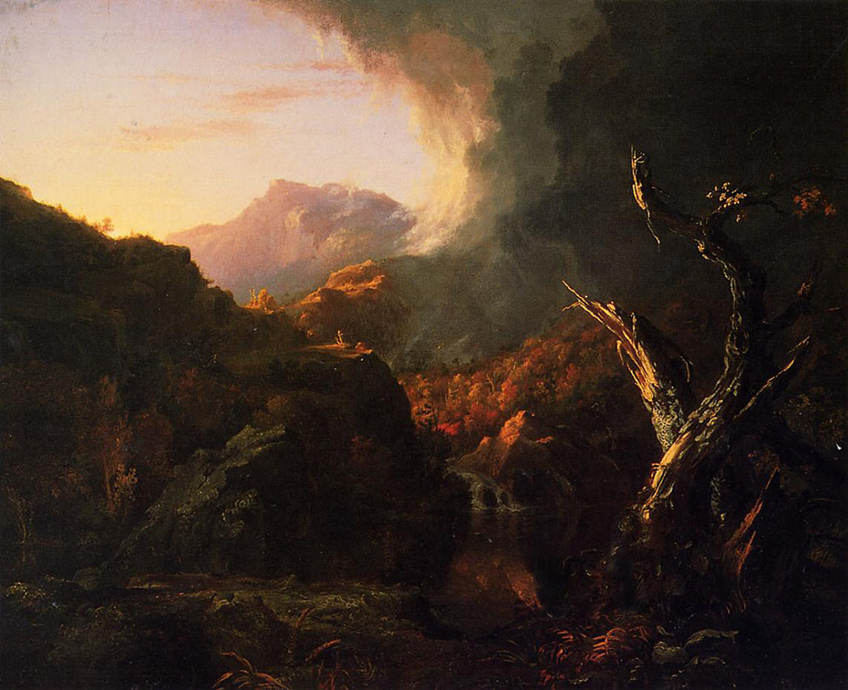 Landscape with Dead Tree
