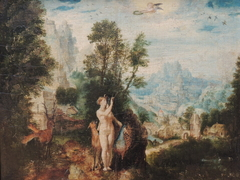 Landscape with Diana