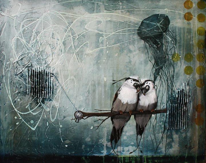 Les tourtereaux / Lovebirds