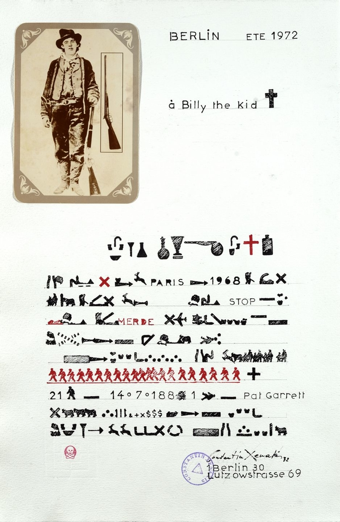 Lettre a Billy the Kid