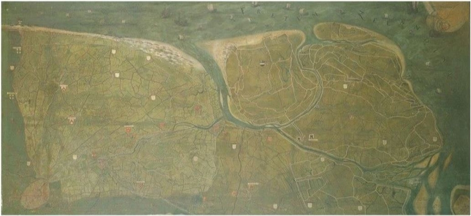 Map of the Liberty of Bruges