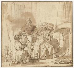 Marcus Curius Dentatus weigert de geschenken van de Samnieten