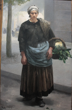 Marianne Orfrey, crieuse de vert