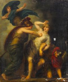 Mars, Minerva and Venus