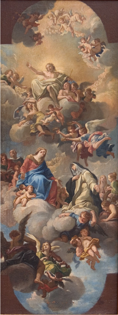 Mary Introducing St Catherine of Siena to Christ