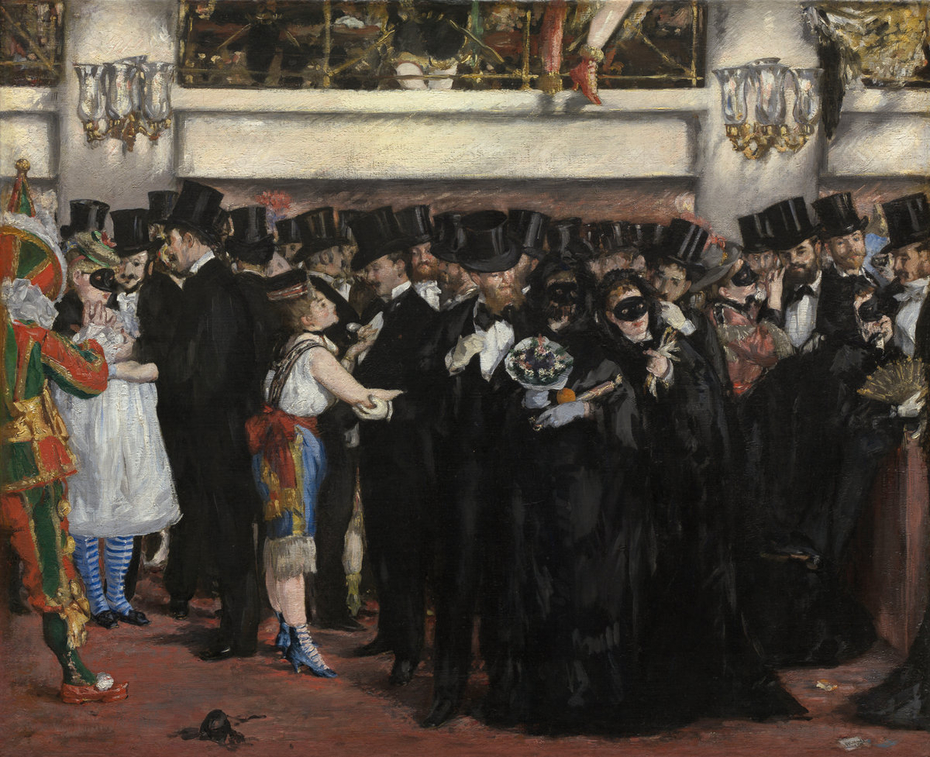 Masked Ball at the Opera