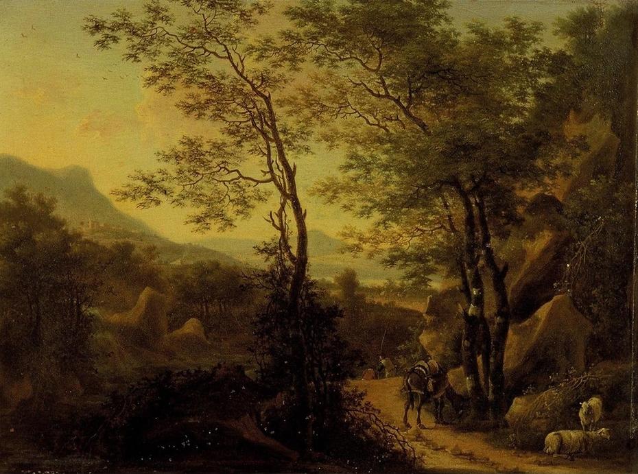 Mountainous Landscape in Italy
