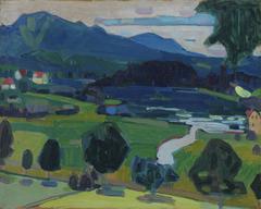 Murnau – Blick über den Staffelsee