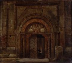 Northwest Portal of St. Godehard