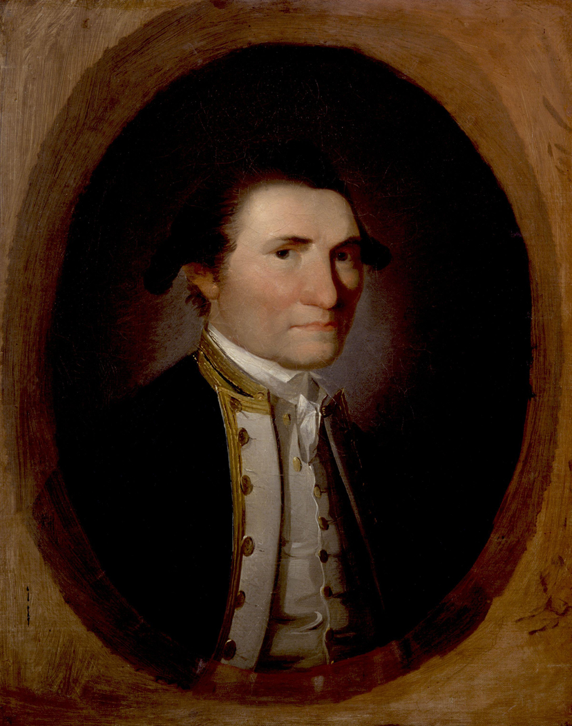 Oil painting of James Cook