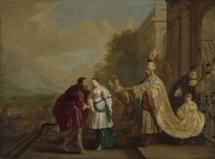 Pharaoh Returns Sarah to Abraham (Abimelech, King of Gerar, Restores Sarah to Abraham)