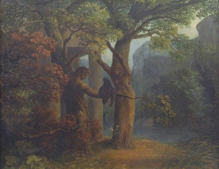 Philemon and Baucis' transformation