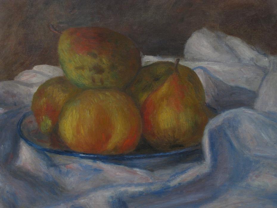 Pommes et poires