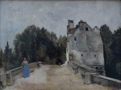 Pont et Moulin près de Mantes