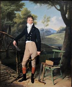 Portrait de Charles d'Aucourt de Saint-Just