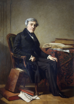 Portrait de Jules Michelet (1798-1874), historien