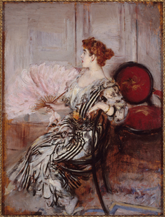 Portrait de Madame Torri, danseuse à l'Opéra