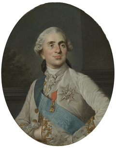 Portrait en buste de Louis XVI