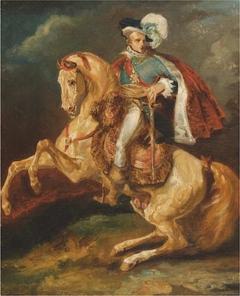 Portrait équestre de Sa Majesté le roi de Westphalie, Jérôme Bonaparte