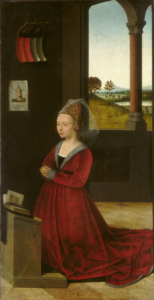 Portrait of a Female Donor