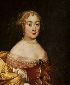 Portrait of a lady with pearls.