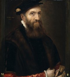 Portrait of a Man aged 48