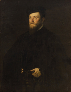 Portrait of a Man in a Cape