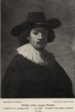 Portrait of a Young Man (copy of 1632 self-portrait with hand in jacket)