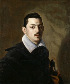 Portrait of a Young Man with a Sword