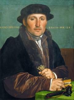 Portrait of a young merchant