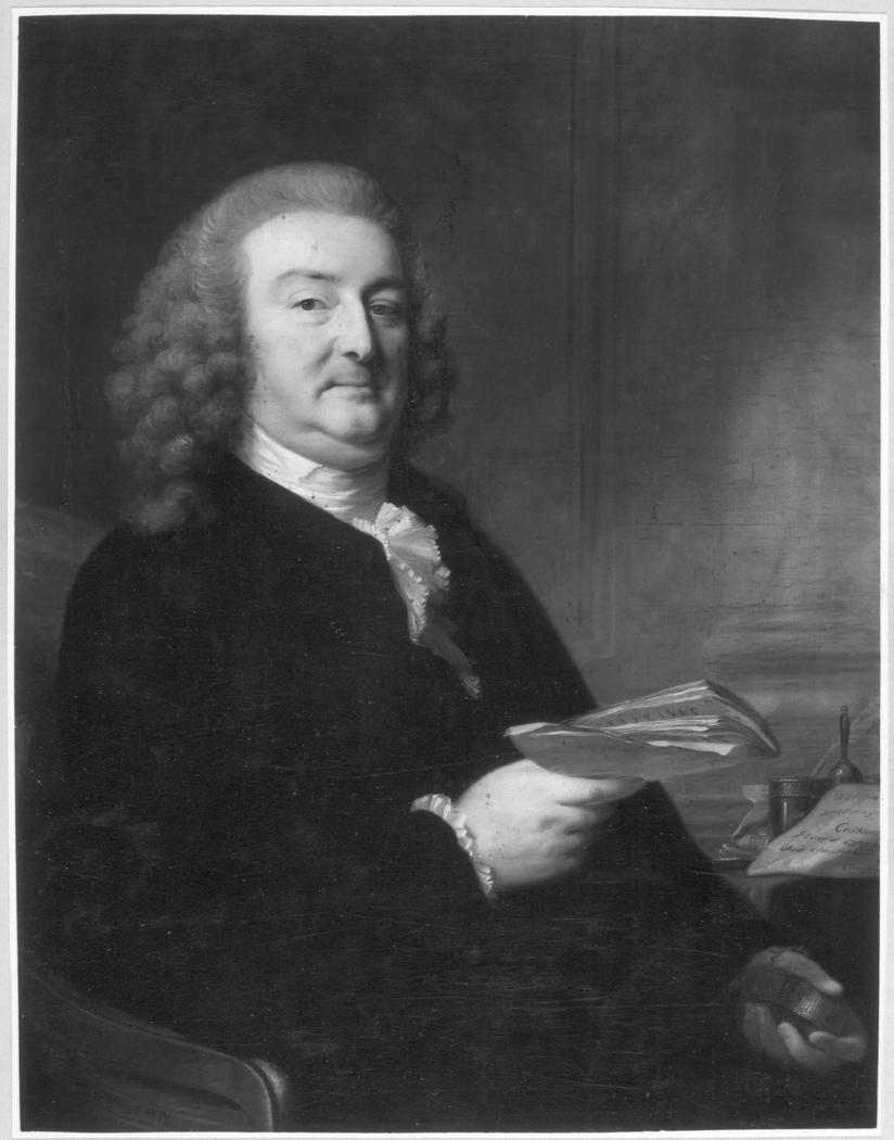 Portrait of Abraham Calkoen (1729-1796)