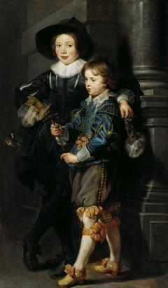 Portrait of Albert and Nicolaas Rubens