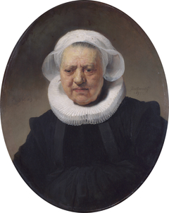 Portrait of an 83-year Old Woman (possibly Aechje Claesdr, mother of Dirck Jansz Pesser)