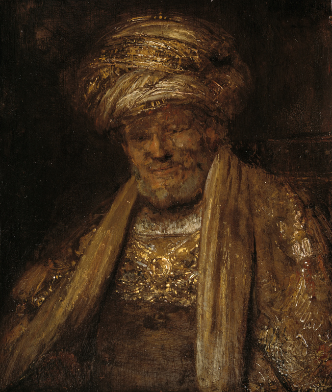 Portrait of an Oriental Man