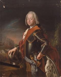 Portrait of Christian Augustus of Anhalt-Zerbst