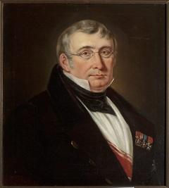 Portrait of count Józef Wawrzyniec Krasiński