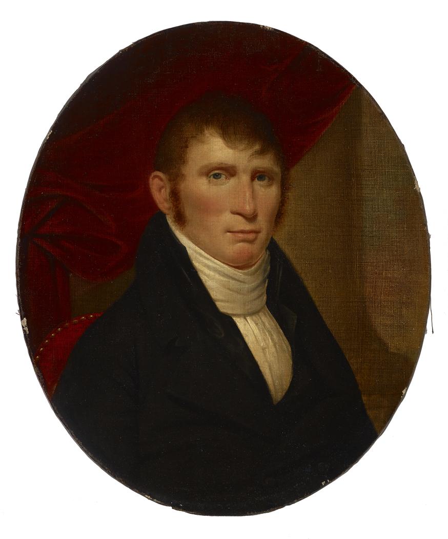 Portrait of David Cox