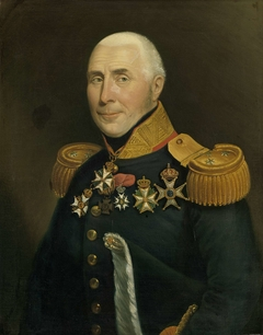 Portrait of Gijsbertus Martinus Cort Heyligers (1770-1849). Luitenant-generaal der infanterie