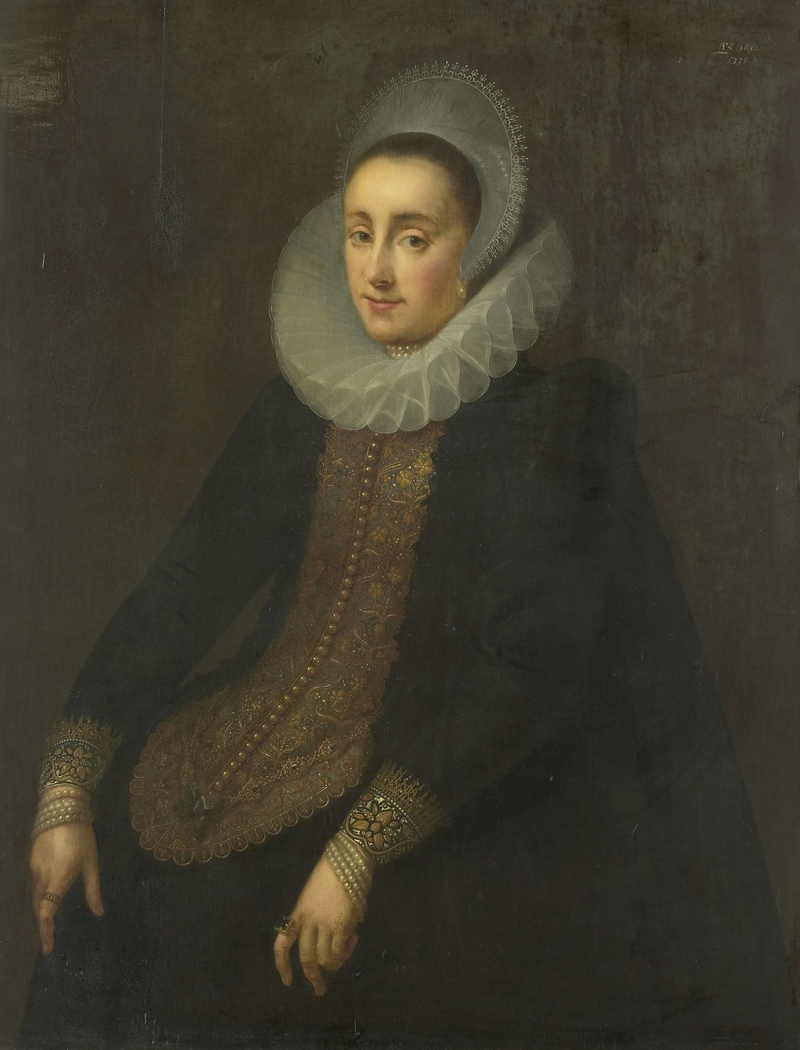 Portrait of Lucretia del Prado, Wife of Jeremias Boudinois