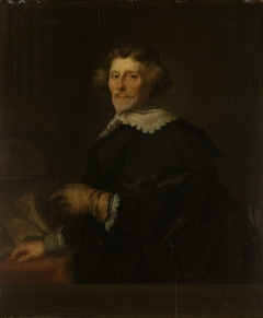 Portrait of Pieter Corneliszoon Hooft, Bailiff of Muiden, Historian and Poet