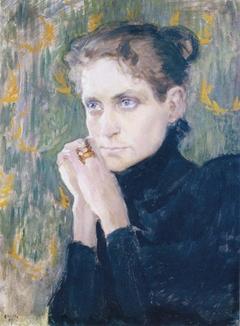 Portrait of the Actress Ida Aalberg