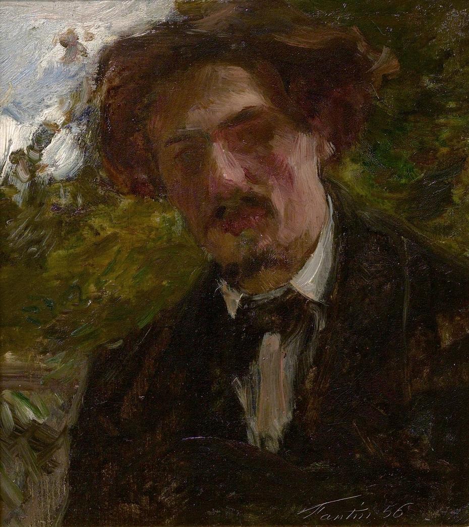 Portrait of the Artist Alphonse Legros