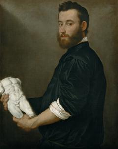 Portrait of the sculptor Alessandro Vittoria