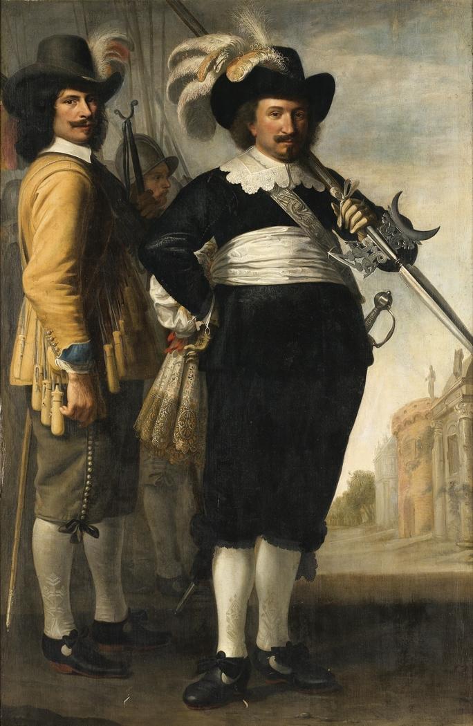 Portrait of Willem Reyersz. de Langue and Daniël Fransz. van der Brugge