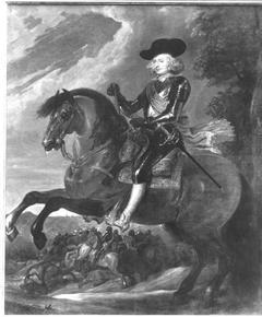 Porträt des Erzherzogs Ferdinand zu Pferd (Werkstattkopie)
